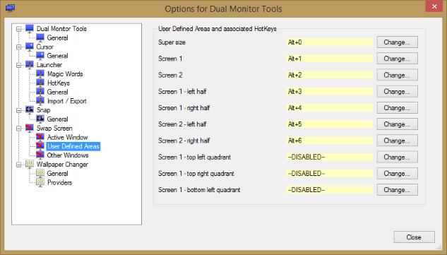 โปรแกรมควบคุม 2 หน้าจอคอมพิวเตอร์ Dual Monitor Tools