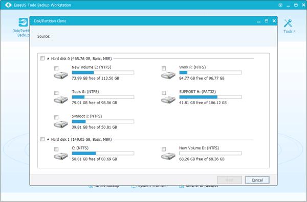 ดาวน์โหลดโปรแกรม EaseUS Todo Backup Workstation