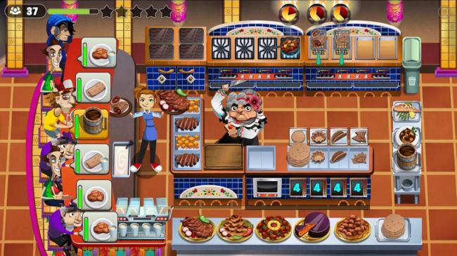 COOKING DASH 2016 (App เกมส์แดชร้านอาหาร) :