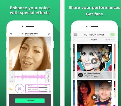 App ร้องคาราโอเกะ กับศิลปินดัง Sing Karaoke by Smule