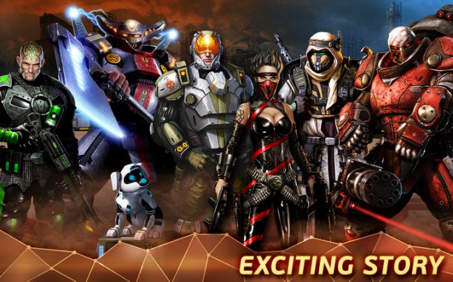 Evolution: Battle for Utopia (App เกมส์สงครามจักรวาล) :