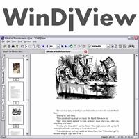 WinDjView (โปรแกรมอ่านไฟล์เอกสาร DjVu คล้ายๆ PDF ฟรี) :