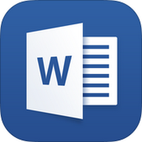 Microsoft Word (App สร้างงานเอกสาร Word แบบฟอร์ม) :