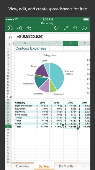 ดาวน์โหลด Microsoft Excel