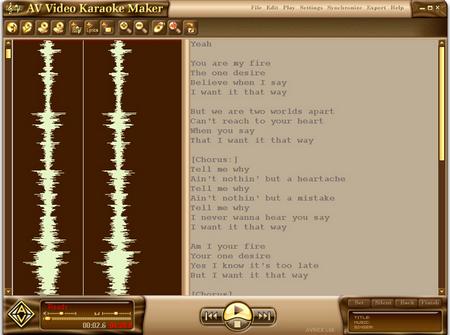 ดาวน์โหลดโปรแกรม AV Video Karaoke Maker