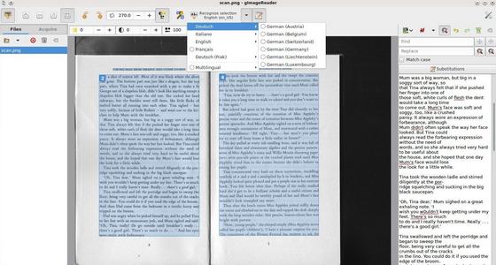gImageReader (โปรแกรม Image Reader แยกข้อความจากรูปภาพ) :