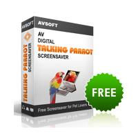 AV Digital Talking Parrot Screensaver (สกรีนเซฟเวอร์ นกแก้วพูดได้)