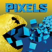 PIXELS Defense (App เกมส์แพคแมนเขมือบโลก)