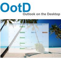 Outlook on the Desktop (โปรแกรมแสดงปฏิทิน Outlook บนหน้าจอ)