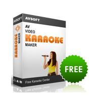 AV Video Karaoke Maker (โปรแกรมทำคาราโอเกะเอง ง่ายๆ ฟรี)
