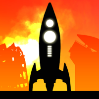 Escape (App เกมส์บังคับจรวด)
