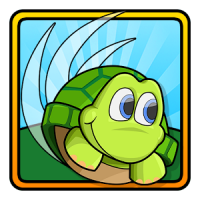 Turtle Tumble (App เกมส์ตีกอล์ฟเต่า)