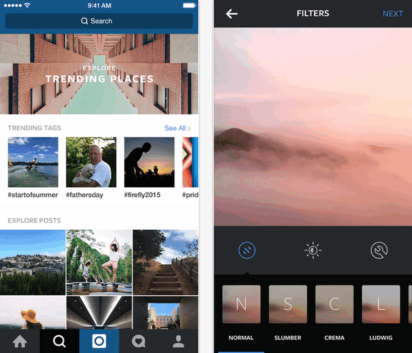 App ถ่ายรูป แต่งรูป Instagram