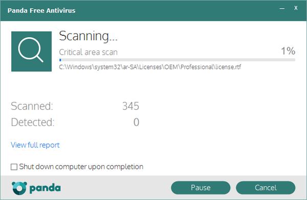ดาวน์โหลดโปรแกรม Panda Antivirus Free
