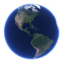 Desktop Earth (เปลี่ยนพื้นหลัง เป็นรูปโลก แบบตามของจริง) :