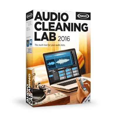 MAGIX Audio Cleaning Lab (โปรแกรมลดเสียงรบกวน Noise พร้อมมิกซ์เสียง) :
