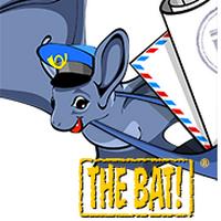 THE BAT (รับส่งอีเมล์ปลอดภัย เข้ารหัสอีเมล์ ตรวจไฟล์แนบ รูปภาพ ฯลฯ) :