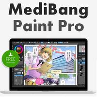 MediBang Paint Pro (โปรแกรมวาดการ์ตูนมังงะ วาดรูปการ์ตูน Manga) :