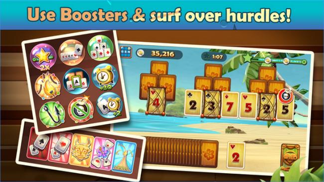 Solitaire TriPeaks (App เกมส์ไพ่โซลิแทร์ชายหาด) :