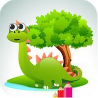 Dinosaurs Coloring Book (App ระบายสีการ์ตูน ไดโนเสาร์)