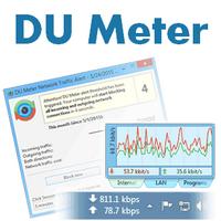 DU Meter (โปรแกรม DU Meter ดูปริมาณการใช้งาน Bandwidth)