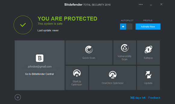BitDefender Total Security :