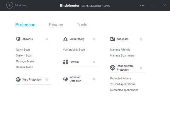 โปรแกรม BitDefender Total Security