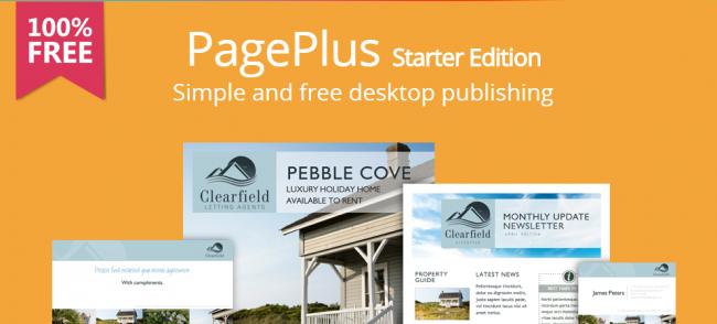Serif PagePlus Starter Edition (ทำโบรชัวร์ บัตรเชิญ นามบัตร สื่อสิ่งพิมพ์ ฟรี) :