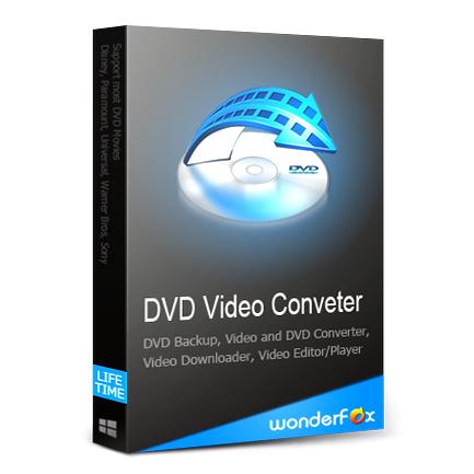WonderFox DVD Video Converter (แปลงไฟล์วีดีโอ ตัดต่อวีดีโอ คุณภาพสูง) :