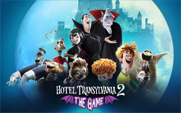 App เกมส์โรงแรมผี Hotel Transylvania