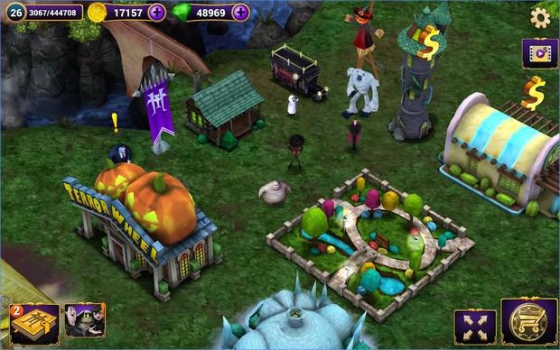 Hotel Transylvania 2 (App เกมส์โรงแรมผีบริหารเมือง) :