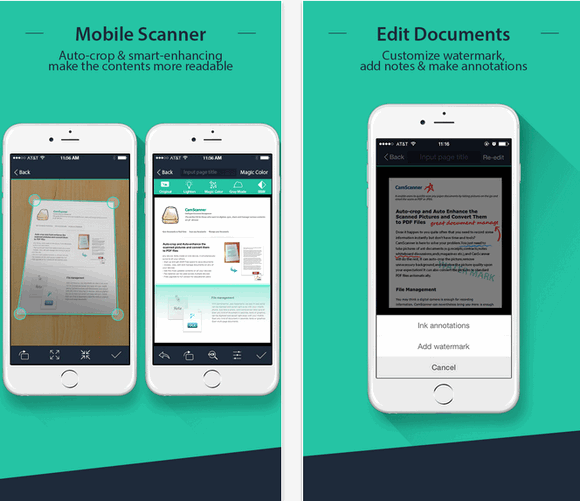 App สแกนเอกสาร CamScanner