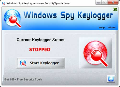 Windows Spy Keylogger :