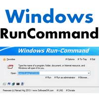 Run Command (โปรแกรมรันคำสั่ง ส่งคำสั่ง แบบพิมพ์เองบน Windows)