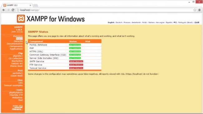 XAMPP (โปรแกรม XAMPP ติดตั้ง Web Server ด้วยตัวเอง) :