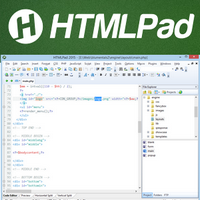 HTMLPad 2018 (โปรแกรม HTMLPad เขียน HTML CSS JavaScript) :