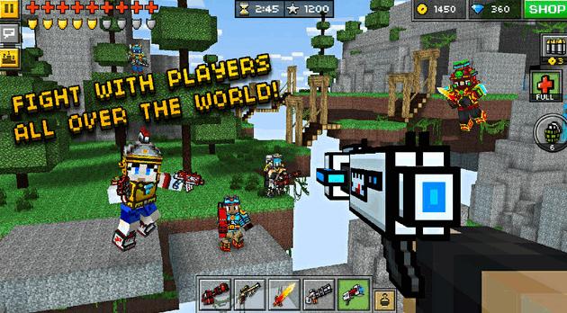 เกมส์ยิงปืน Pixel Gun 3D