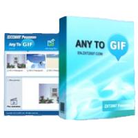Any to GIF (โปรแกรมสร้างภาพเคลื่อนไหว GIF จากไฟล์ภาพนิ่ง)