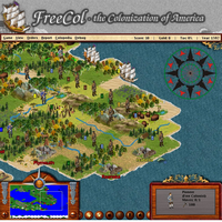 FreeCol (เกมส์ FreeCol ล่าอาณานิคม สร้างเมือง ฟรี)