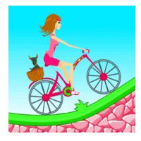 Biker Girl Hill Climb Cycling (App เกมส์สาวน้อยปั่นจักรยาน)
