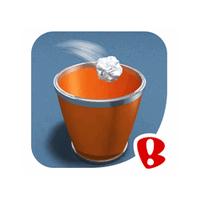 Paper Toss (App เกมส์ Paper Toss ปากระดาษให้ลงถัง)