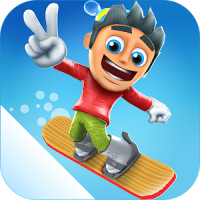 Ski Safari 2 (App เกมส์เล่นสกี แนว Ski สัตว์โลก)
