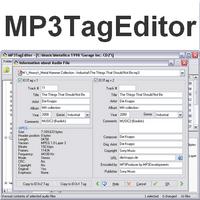 MP3TagEditor (โปรแกรม MP3TagEditor แก้ไขแท็ก ข้อมูลไฟล์เพลง MP3)