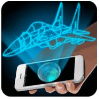 Hologram 3D Prank Simulator (App ทำภาพ สร้างภาพ Hologram จำลอง)