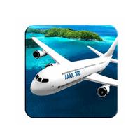 Plane Simulator 3D (App เกมส์จำลองการขับเครื่องบิน 3 มิติ)