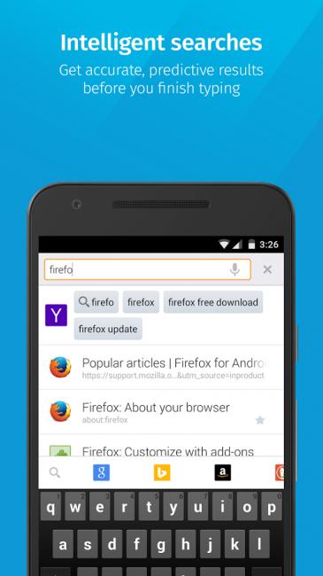 ดาวน์โหลด Firefox web browser