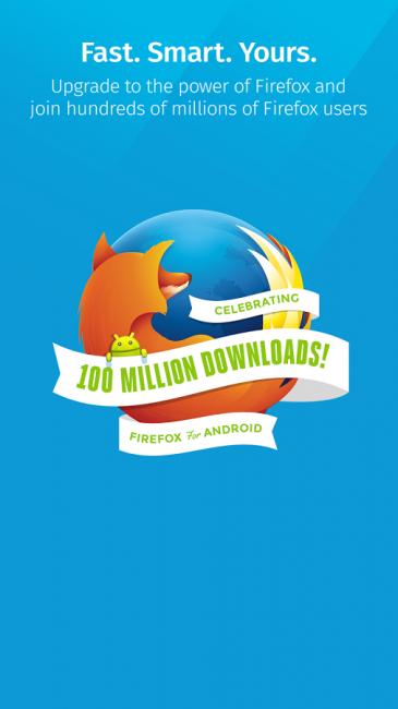 ดาวน์โหลดแอป Firefox for Mobile