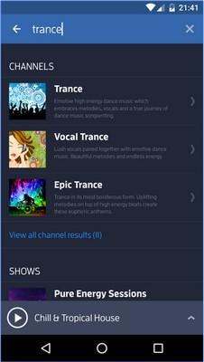 App ฟังดนตรีอิเล็กทรอนิกส์ Digitally Imported Radio