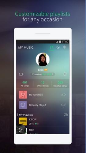 App ฟังเพลง JOOX Music