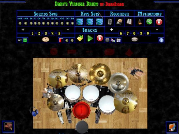 โปรแกรมจำลองกลองชุด DvDrum